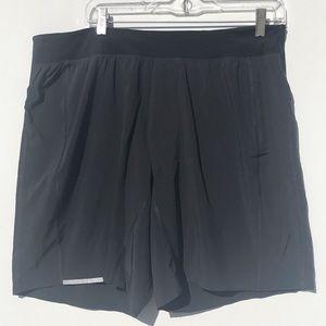 Lululemon Men's Black Shorts Size XL